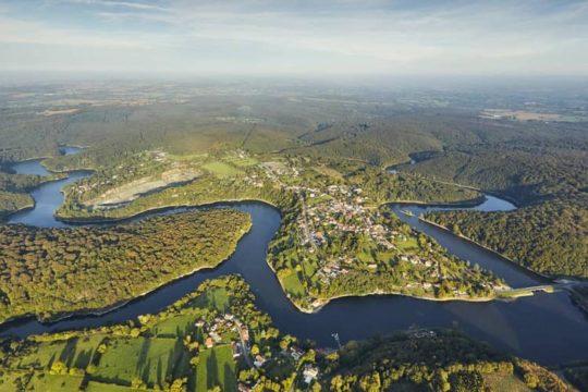 Photo du barrage de Mervent