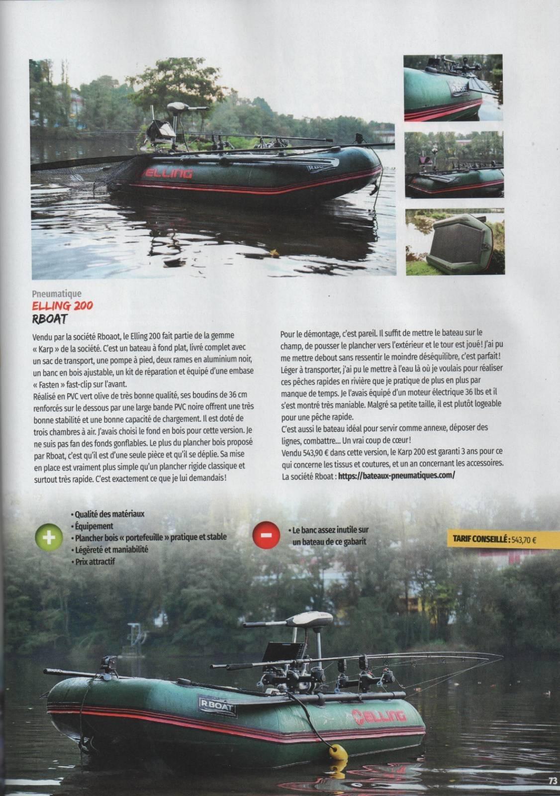 ARTICLE RBOAT & MEDIA CARP N°156